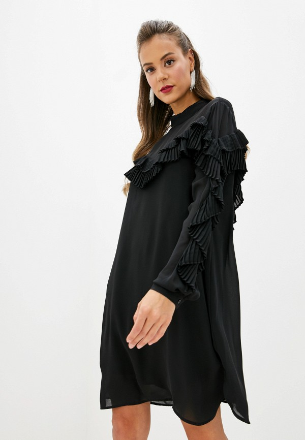 Фото - женское платье Silvian Heach черного цвета