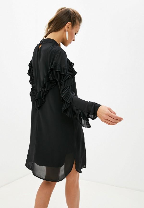Фото 3 - женское платье Silvian Heach черного цвета