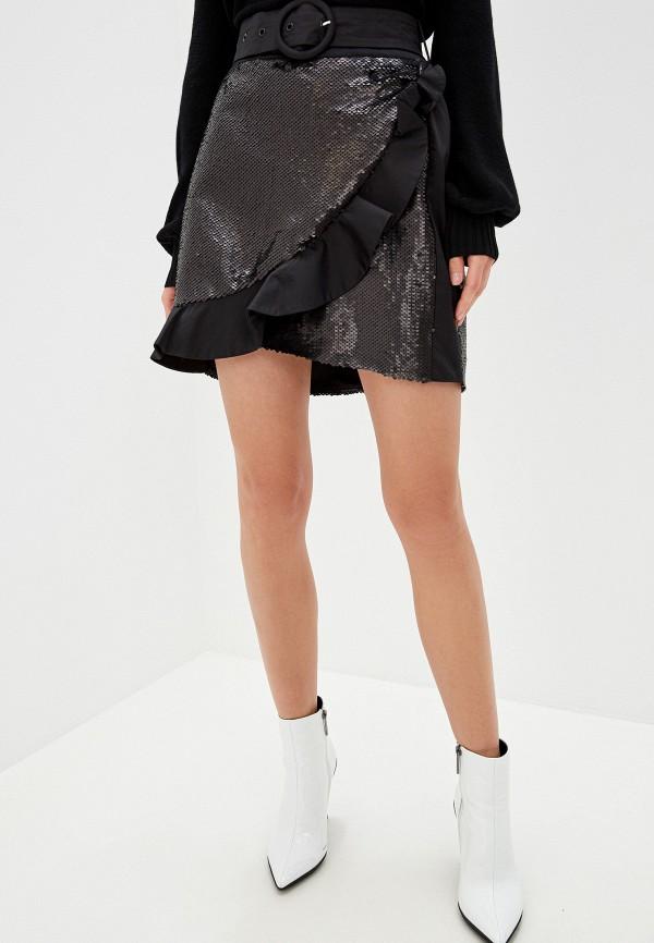 женская юбка silvian heach, черная