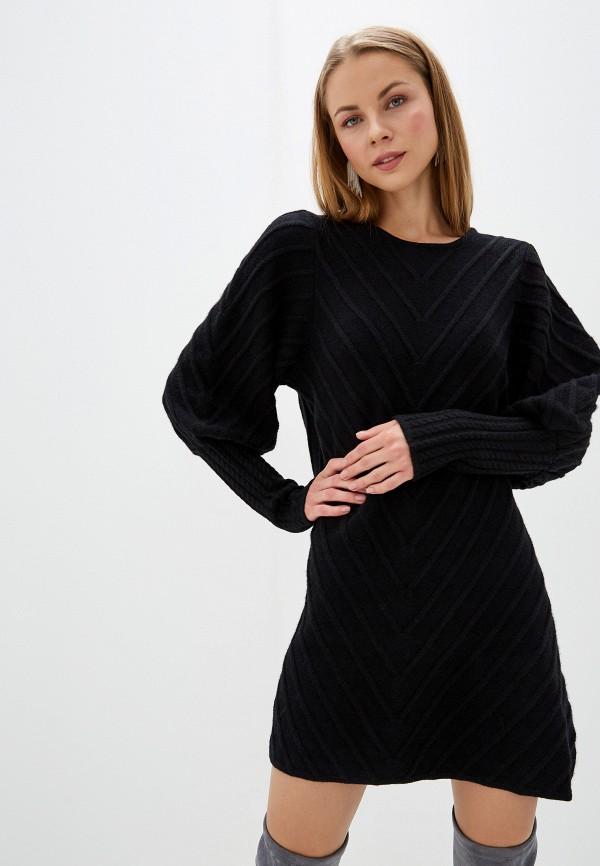 женское платье silvian heach, черное