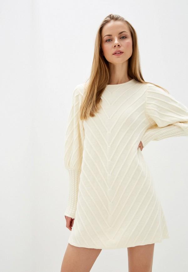женское платье silvian heach, белое
