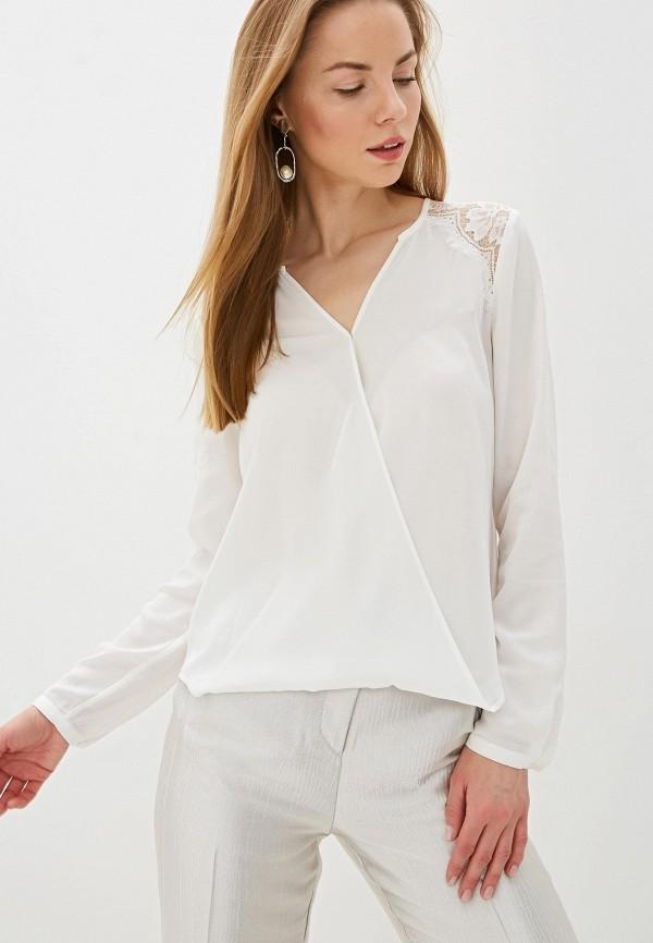 женская блузка с длинным рукавом silvian heach, белая