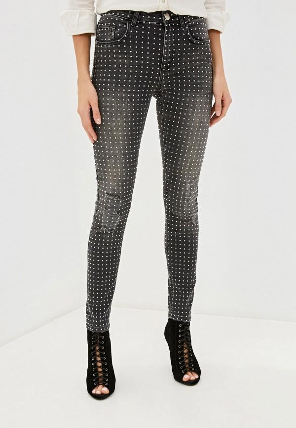 женские джинсы скинни silvian heach, серые