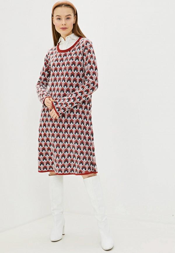 женское платье silvian heach, красное