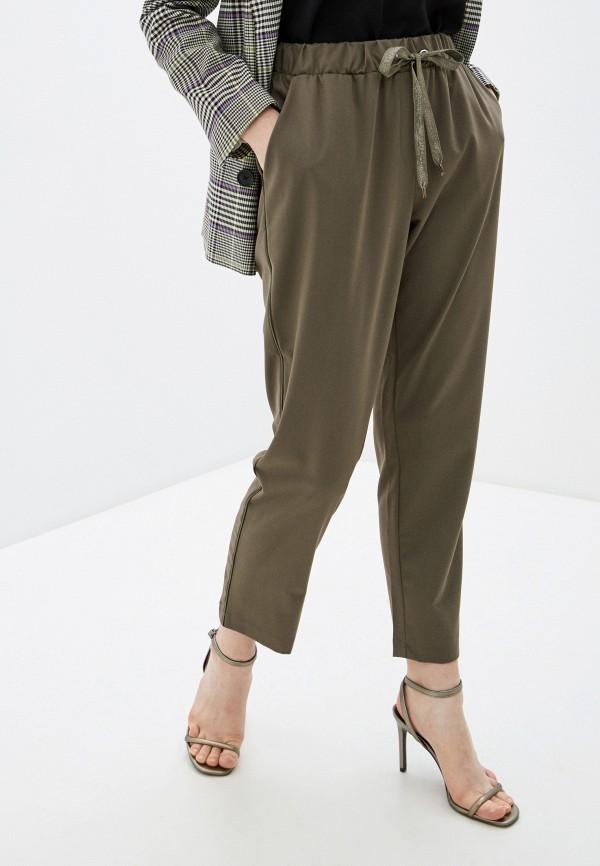 женские повседневные брюки silvian heach, хаки