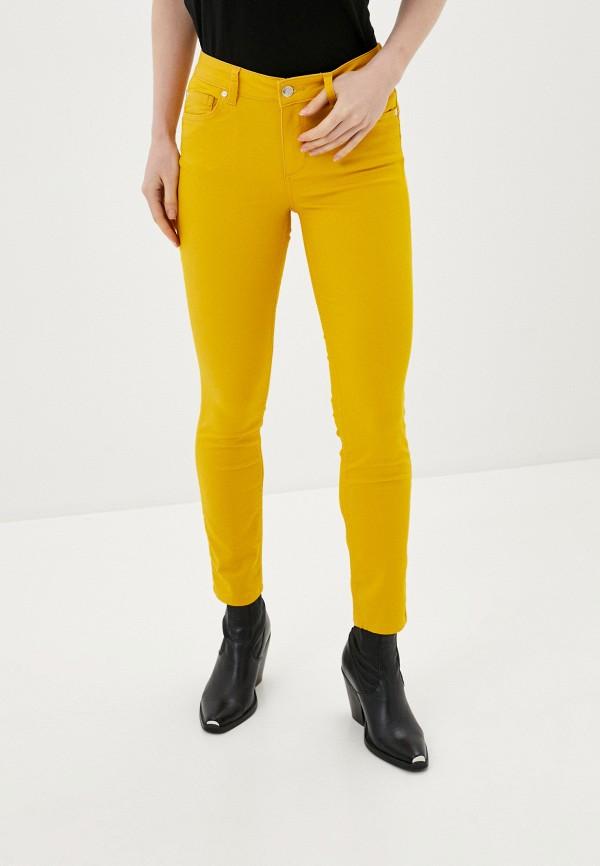 женские повседневные брюки silvian heach, желтые