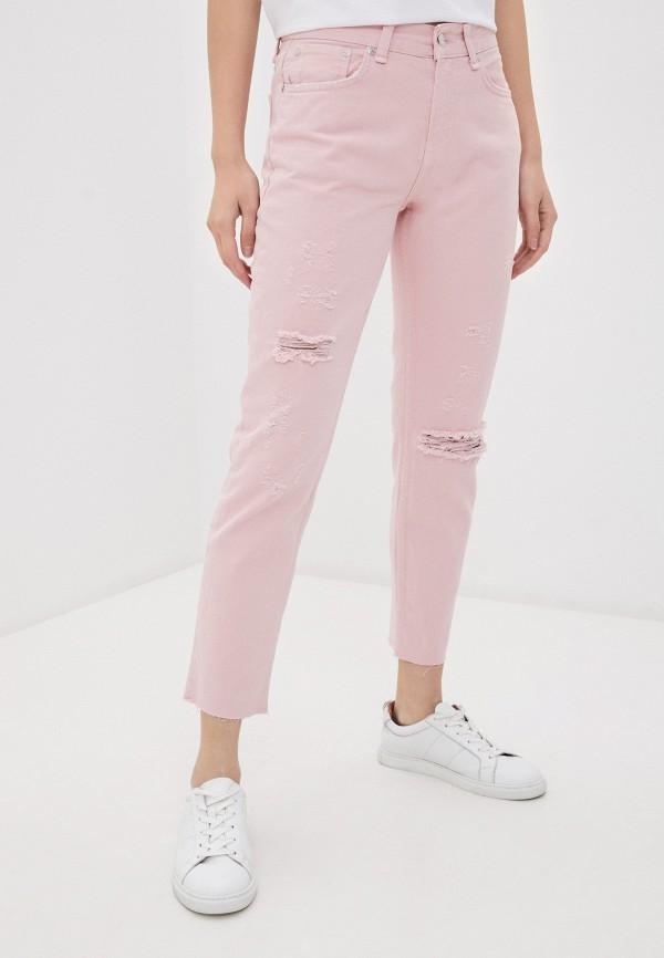 женские джинсы silvian heach, розовые