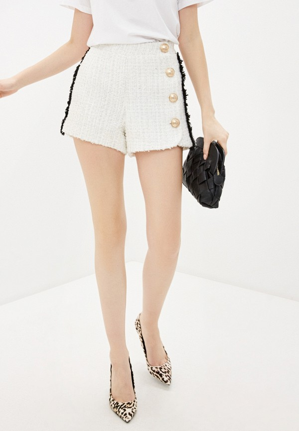 женские повседневные шорты silvian heach, белые