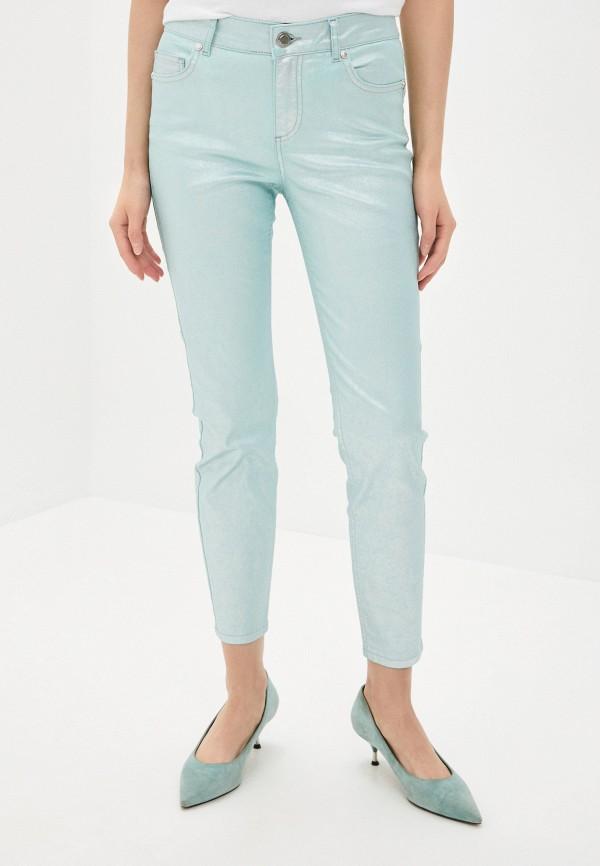 женские джинсы скинни silvian heach, голубые