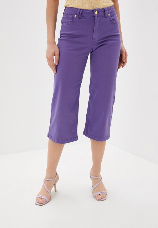 женские повседневные брюки silvian heach, фиолетовые