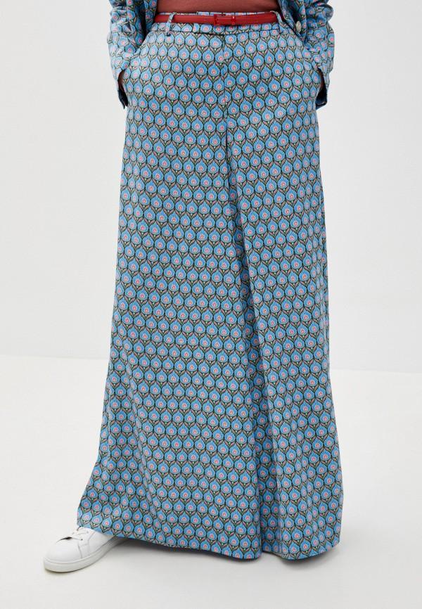 женские повседневные брюки silvian heach, голубые