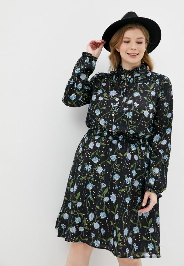 женское платье-рубашки silvian heach, черное