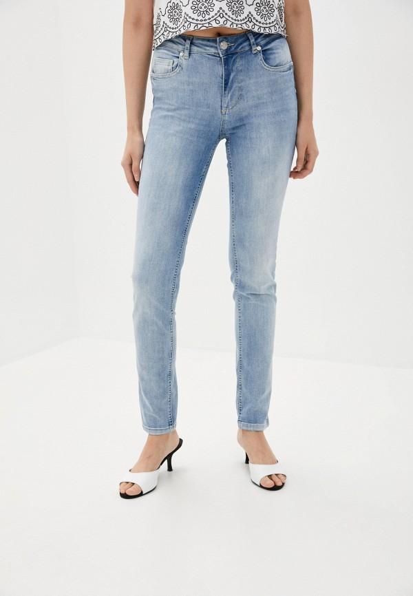 женские джинсы скинни silvian heach, синие