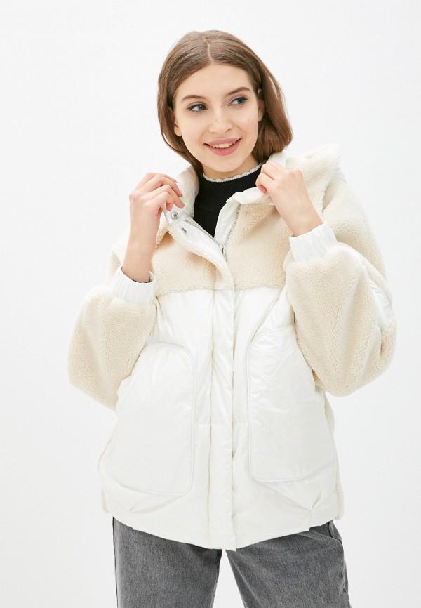 женская куртка silvian heach, белая