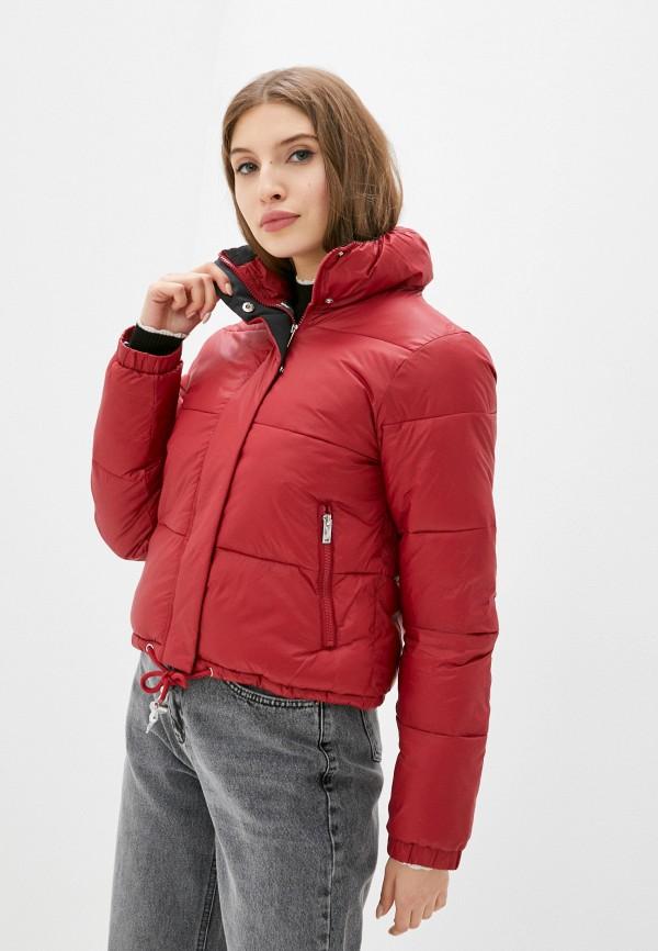 женская куртка silvian heach, красная