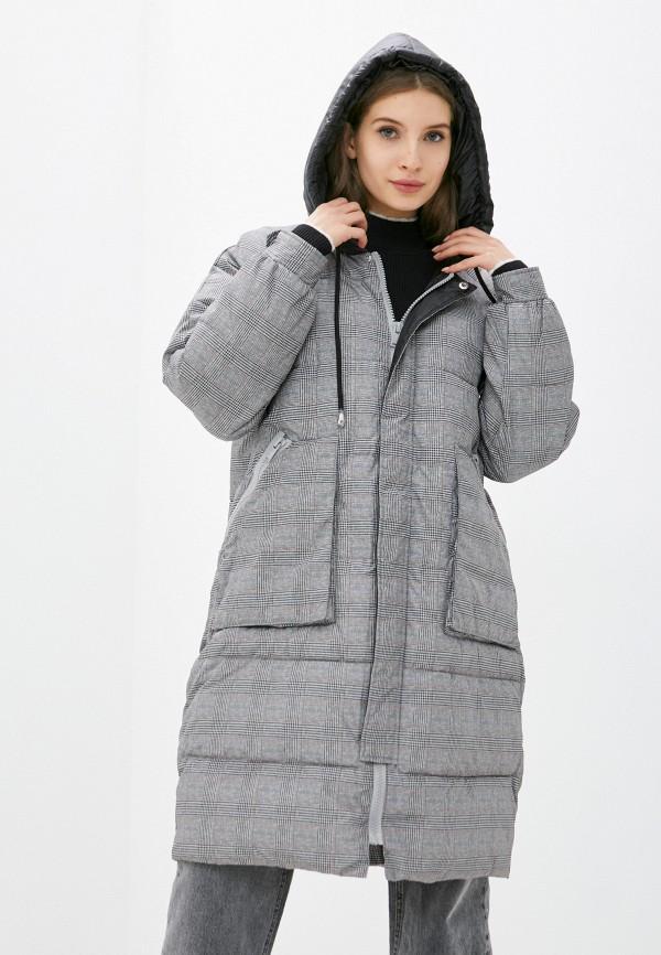 женская куртка silvian heach, серая