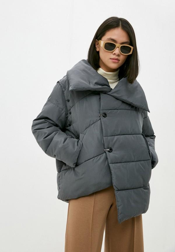 женская куртка silvian heach, синяя