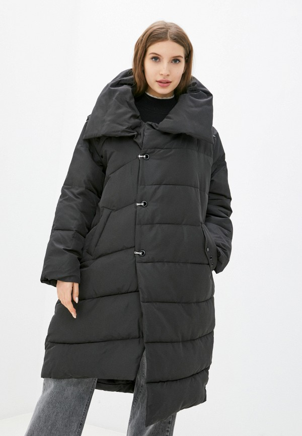 женская куртка silvian heach, черная