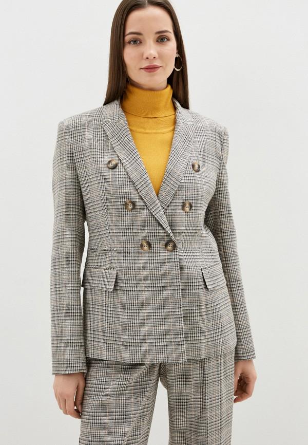 женский пиджак silvian heach, бежевый
