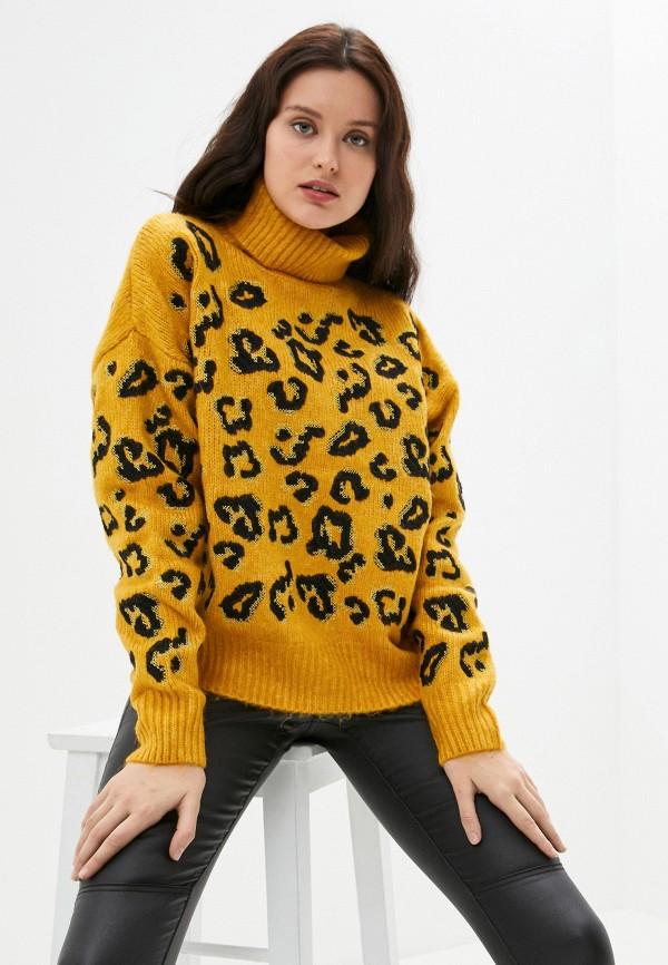 женский свитер silvian heach, желтый