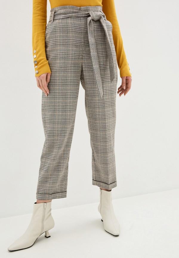 женские классические брюки silvian heach, серые