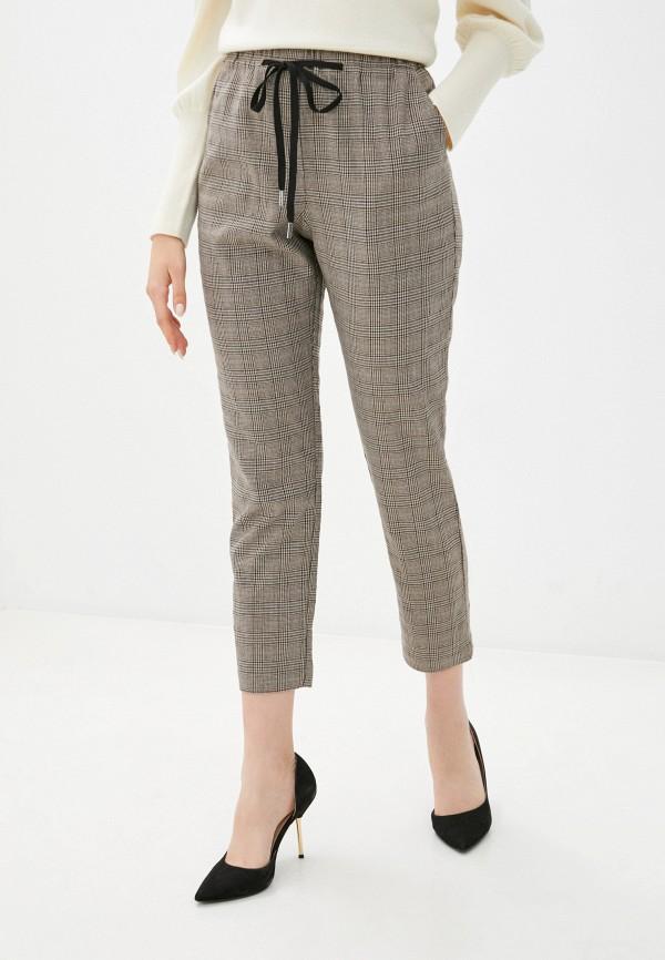 женские брюки silvian heach, коричневые
