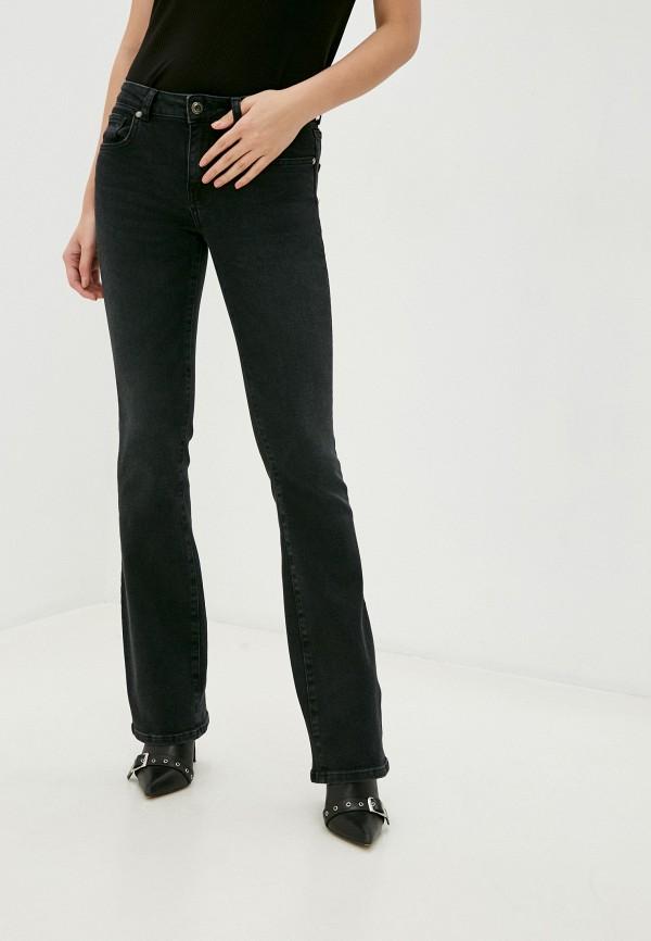 женские джинсы клеш silvian heach, черные