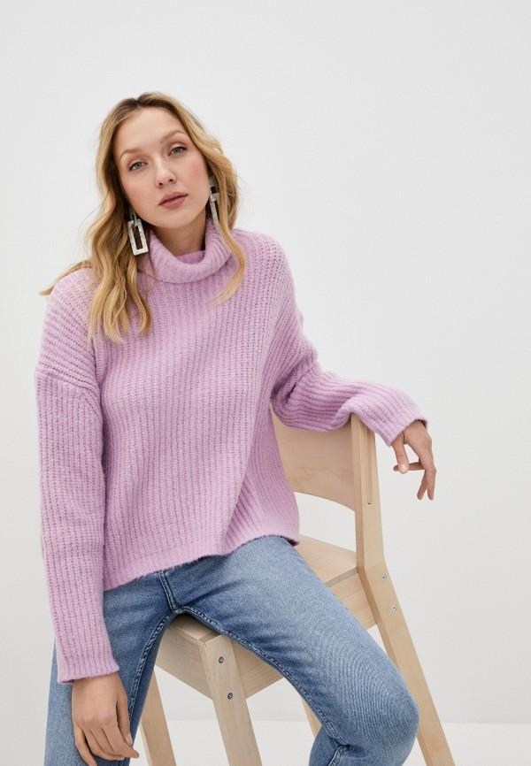 женский свитер silvian heach, розовый