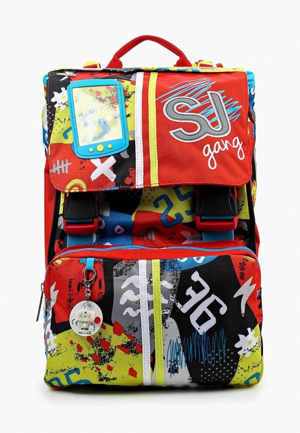 Рюкзак SJ Gang SJ Gang SJ002BKVZQ51 худи print bar skull gang