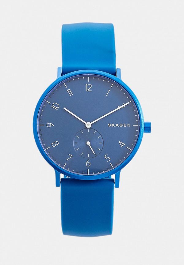мужские часы skagen, синие