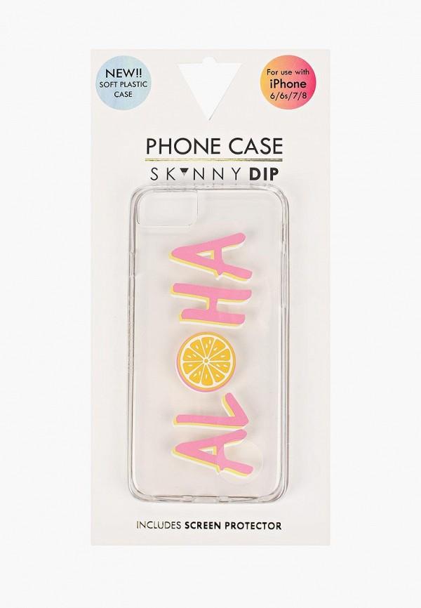 Купить Чехол для iPhone Skinnydip, 6/6s/7/8, SK010BWBKMB4, прозрачный, Весна-лето 2018