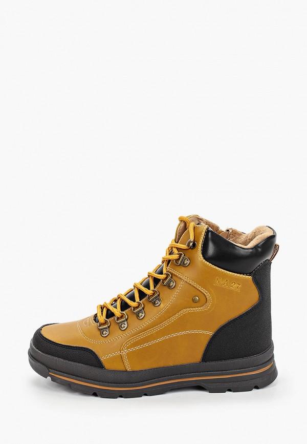 ботинки сказка для мальчика, коричневые