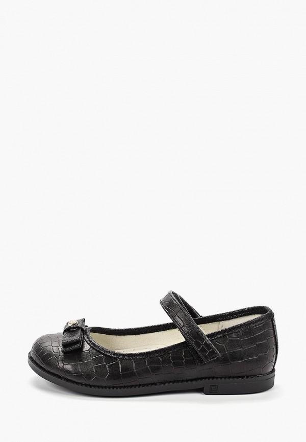 туфли сказка для девочки, черные