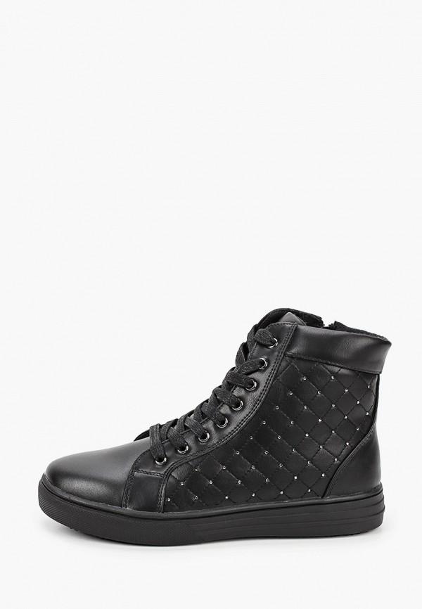 ботинки сказка для девочки, черные