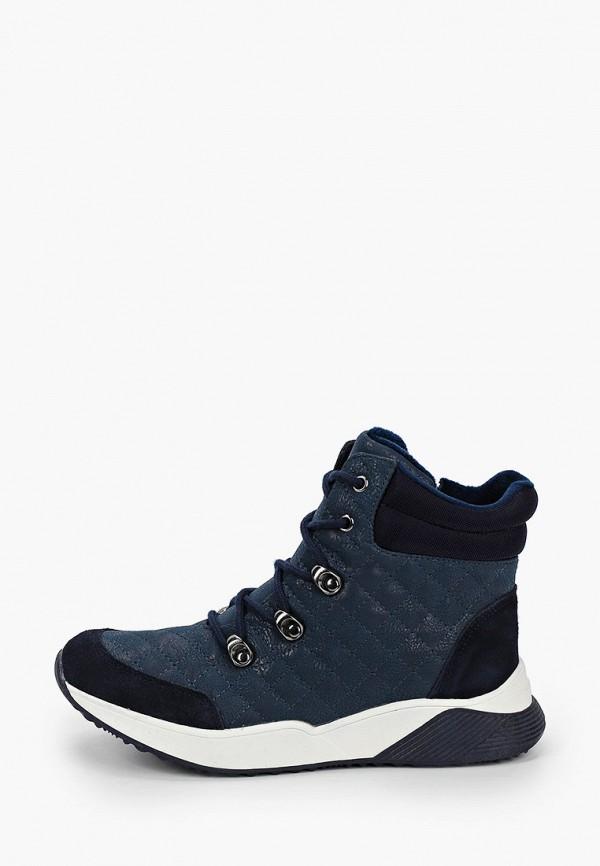 ботинки сказка для девочки, синие