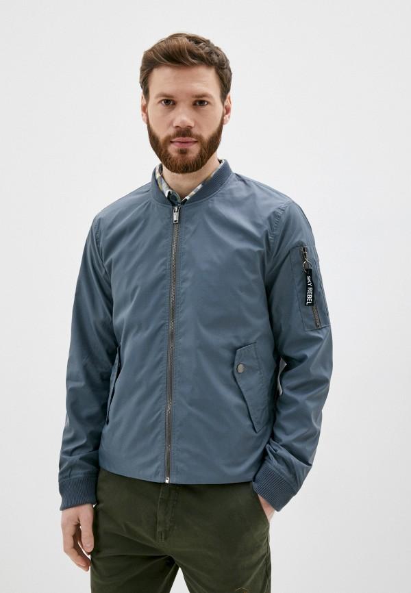 мужская куртка sky rebel, синяя