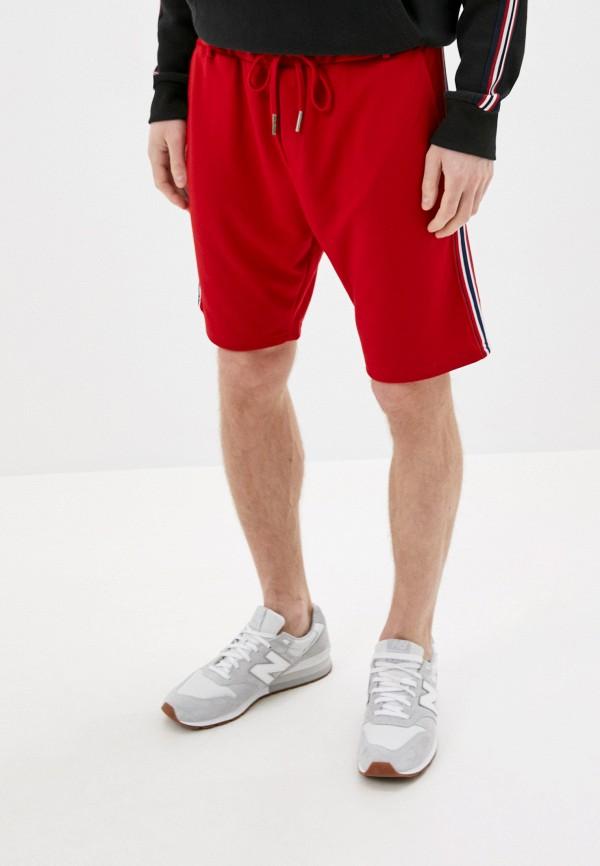 мужские повседневные шорты sky rebel, красные