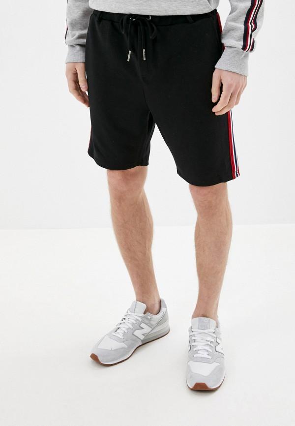 мужские повседневные шорты sky rebel, черные