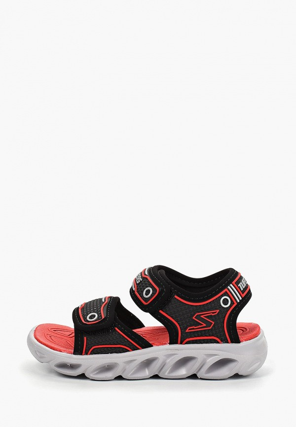 сандалии skechers для мальчика, черные