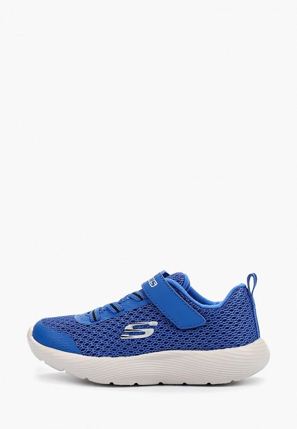 кроссовки skechers для мальчика, синие