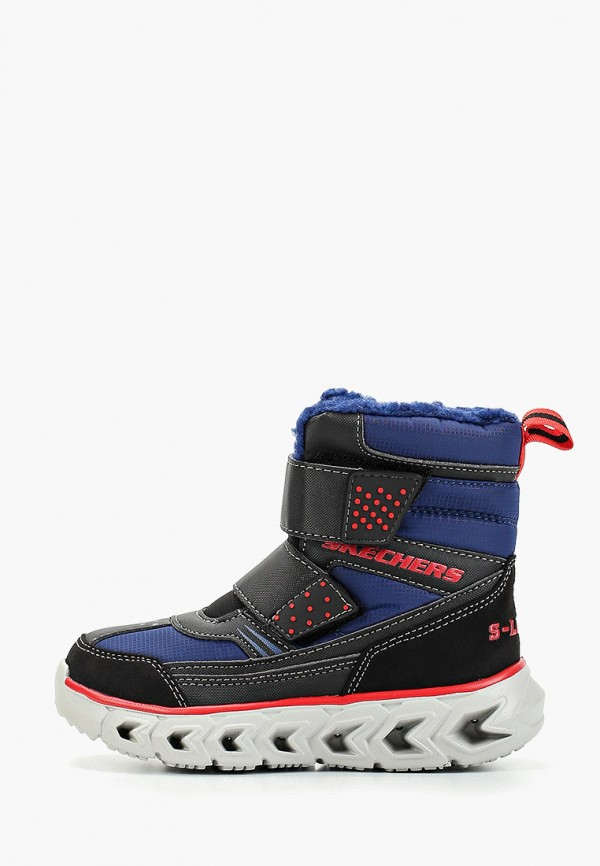 ботинки skechers для мальчика, синие