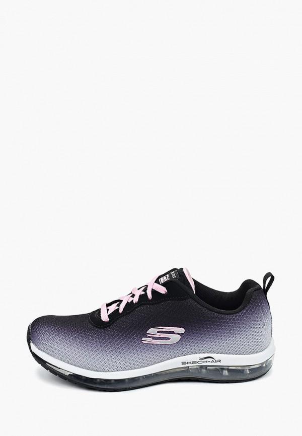 кроссовки skechers для девочки, серые