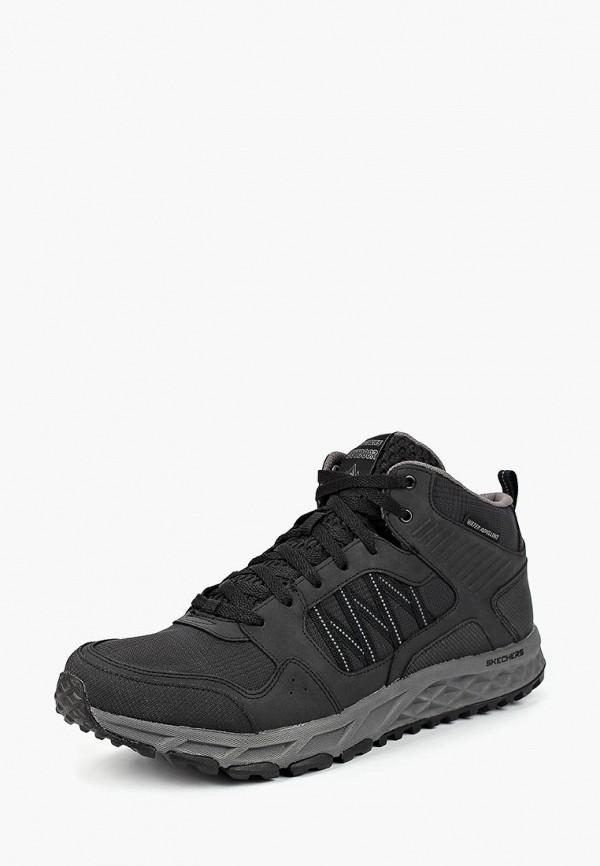 Купить Ботинки трекинговые Skechers, ESCAPE PLANSECOND BITE, sk261amcpub6, черный, Осень-зима 2018/2019