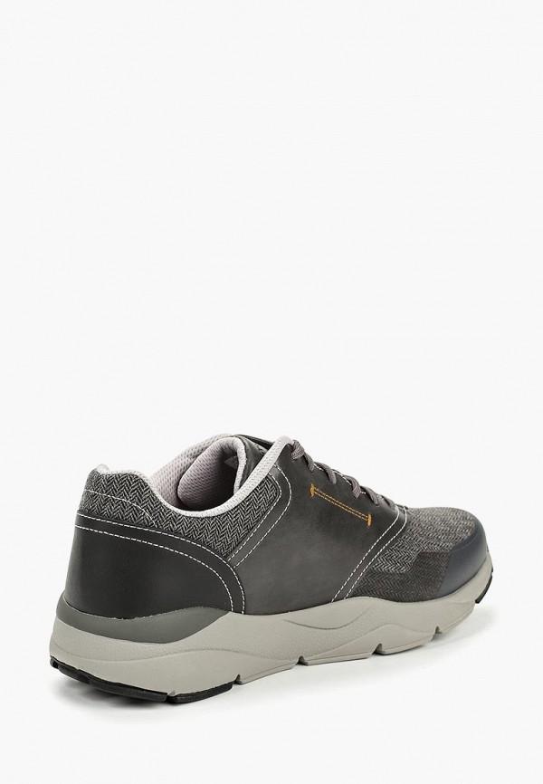 Фото 3 - мужские кроссовки Skechers серого цвета