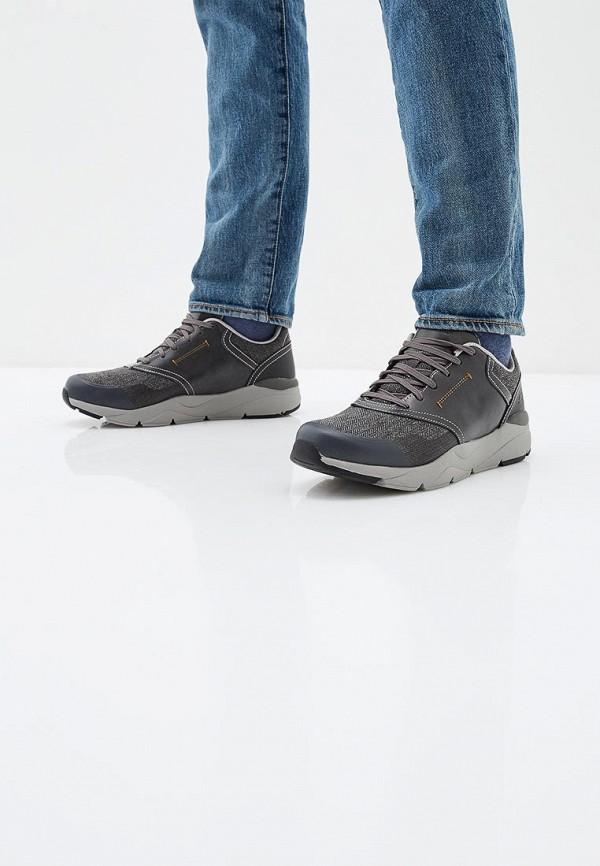 Фото 6 - мужские кроссовки Skechers серого цвета