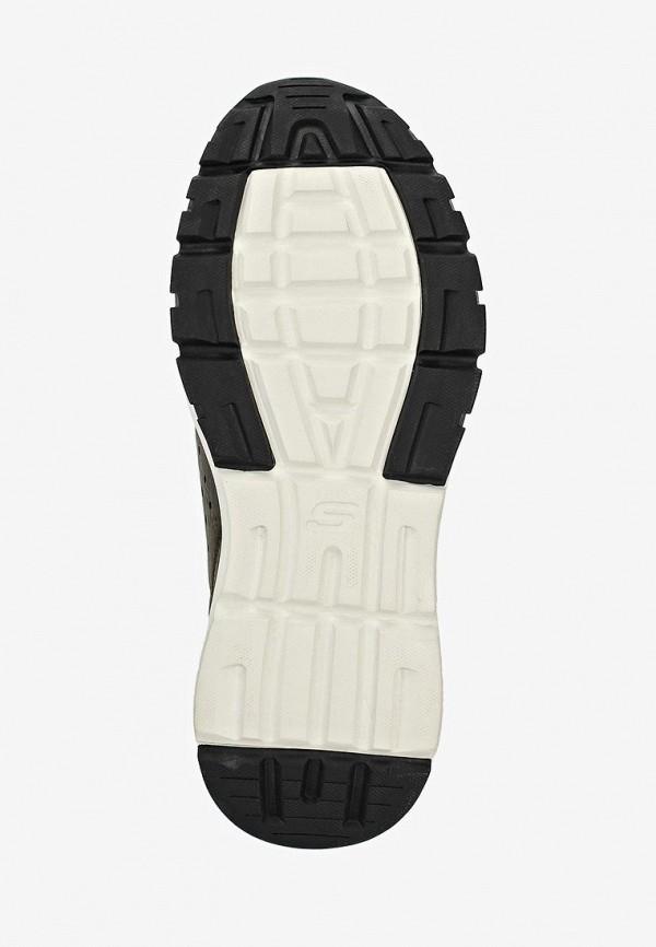 Фото 5 - мужские кроссовки Skechers цвета хаки