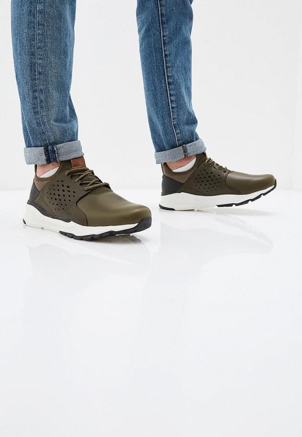 Фото 6 - мужские кроссовки Skechers цвета хаки