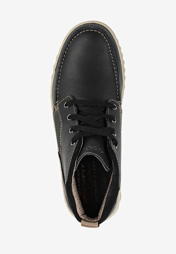 Фото 4 - мужские ботинки и полуботинки Skechers черного цвета