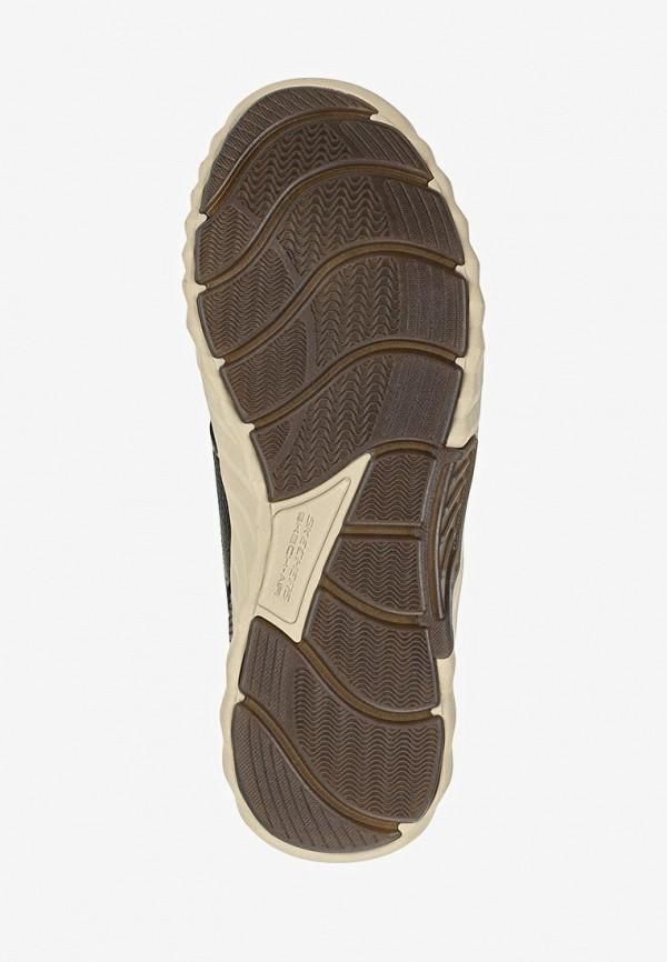 Фото 5 - мужские ботинки и полуботинки Skechers черного цвета