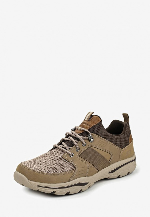 Фото 2 - мужские кроссовки Skechers коричневого цвета